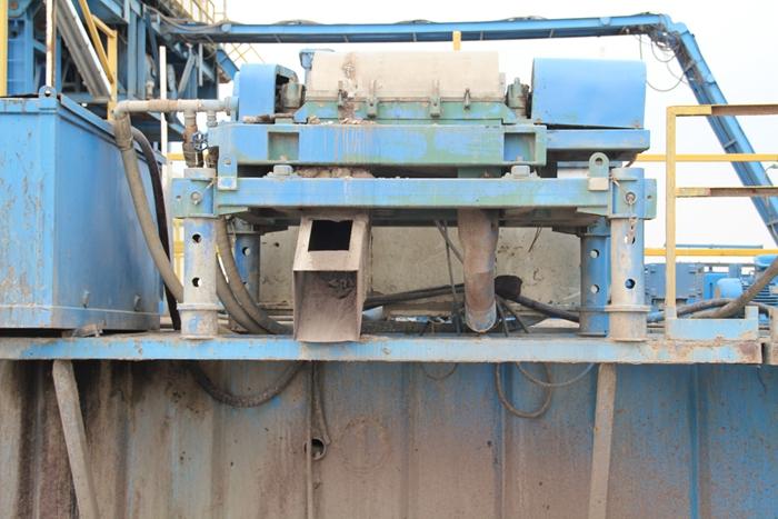 drilling fluid centrifuge